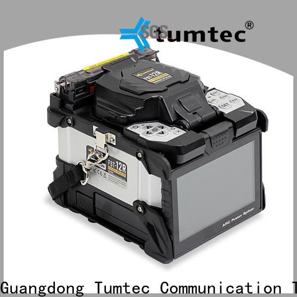 cheap optical fibre cable splicing machine four motors manufacturer for sale