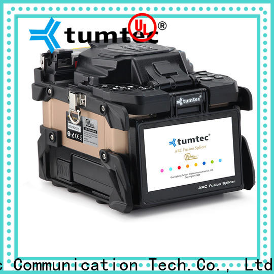 Tumtec six motor optic fusion manufacturer for fiber optic solution bulk production
