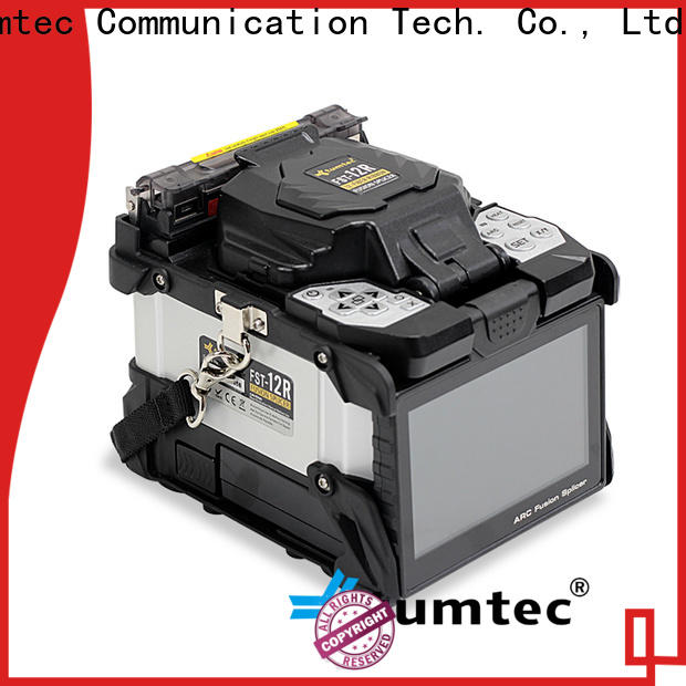 hot-sale splicing machine electrode six motor supplier for fiber optic solution bulk production