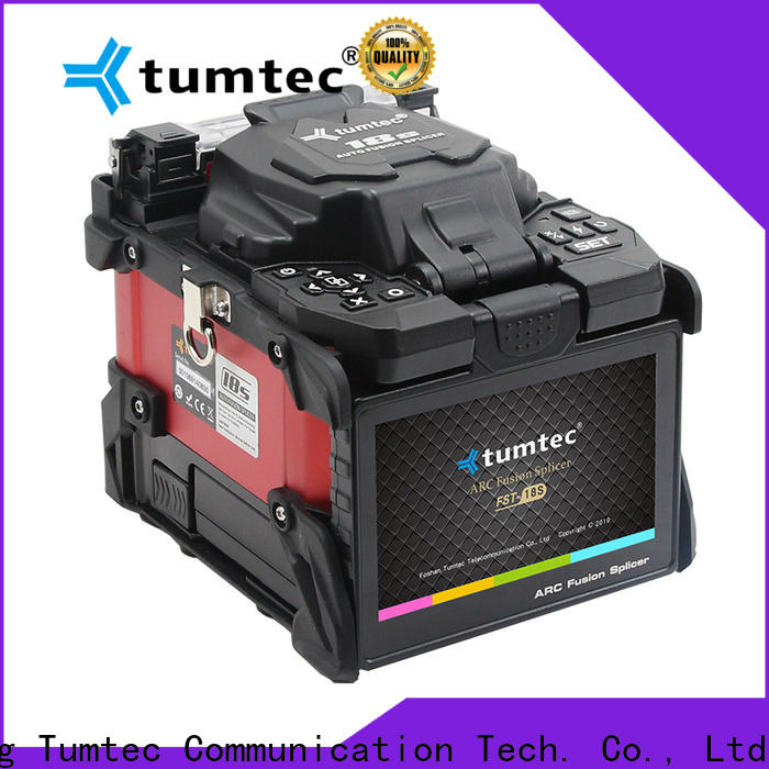 Tumtec four motors fiber optic splicing pdf best supplier for fiber optic solution bulk production