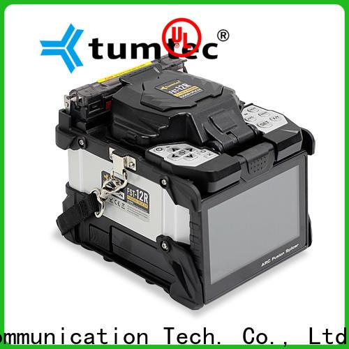 Tumtec best price fiber splicing machine price in pakistan inquire now for fiber optic solution bulk production