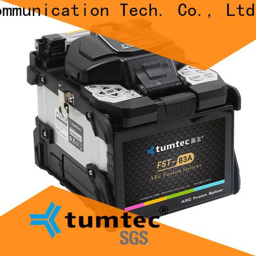 Tumtec four motors fiber optic splicing school with good price for fiber optic solution bulk production