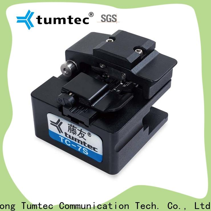 Tumtec approved fitel fiber cleaver wholesale for fiber optic solution