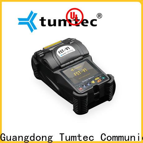 Tumtec equipment fiber optic splicing machine price in pakistan for business for outdoor environment