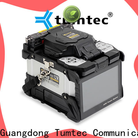 Tumtec six motor fiber optic splicing machine design for fiber optic solution bulk production