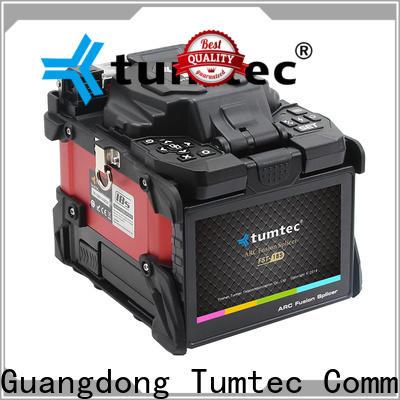 Tumtec four motors fiber optic splicing tool kit price design for fiber optic solution bulk production