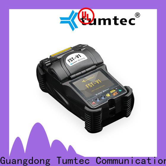 Tumtec high quality optical fiber splicing machine india factory directly sale for fiber optic solution bulk production