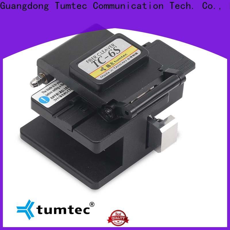 Tumtec quality precision fiber cleaver company for fiber optic solution