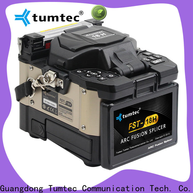 Tumtec professional fusion splicing vs mechanical splicing from China for outdoor environment
