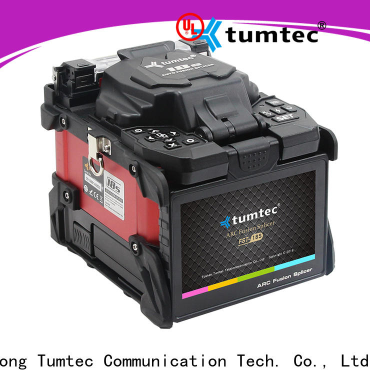 Tumtec four motors fiber optic splicing tools design on sale