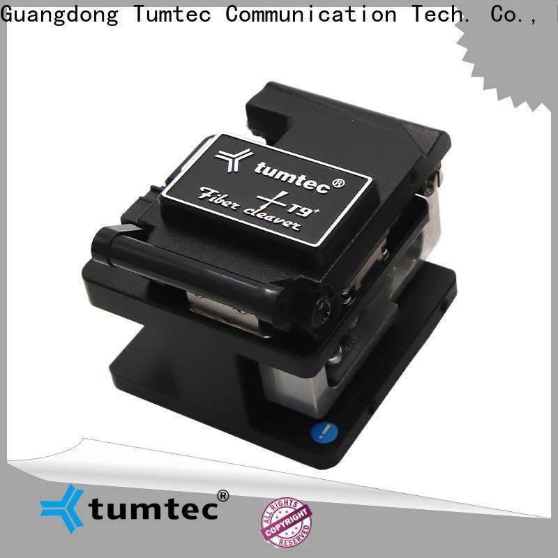 Tumtec quality sumitomo fc 7 cleaver customized for fiber optic solution