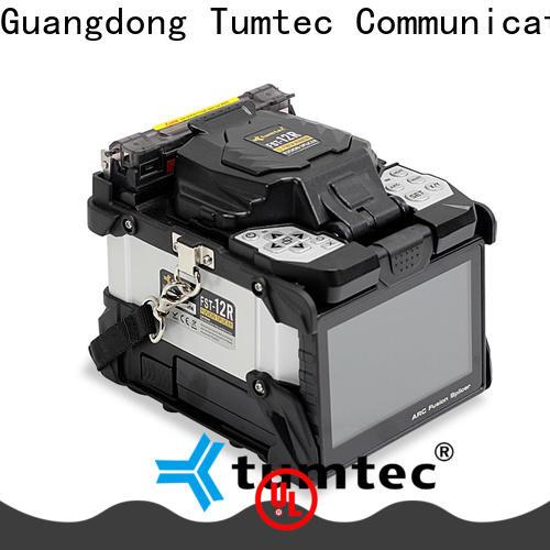 Tumtec optical fiber fiber optic splicing training design for telecommunications