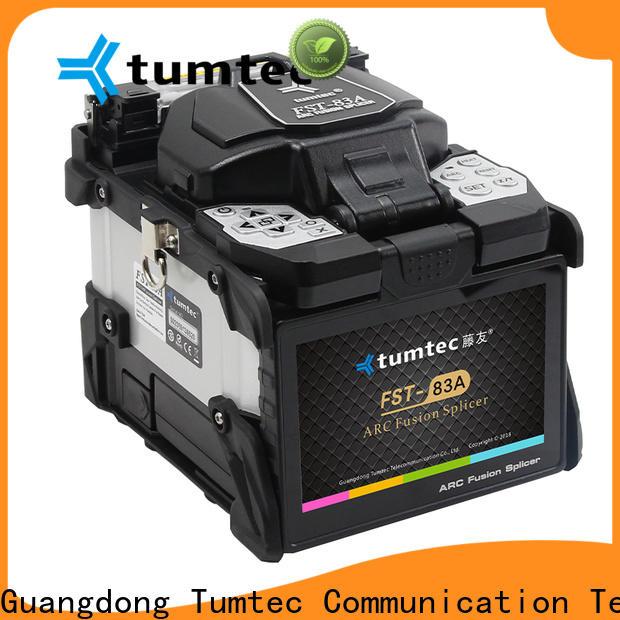 Tumtec optical fiber Fiber Optic Splicing Equipment supply for fiber optic solution bulk production