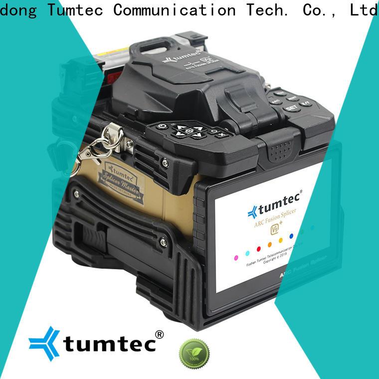 Tumtec v9 mini splicing fiber optic machine design for sale
