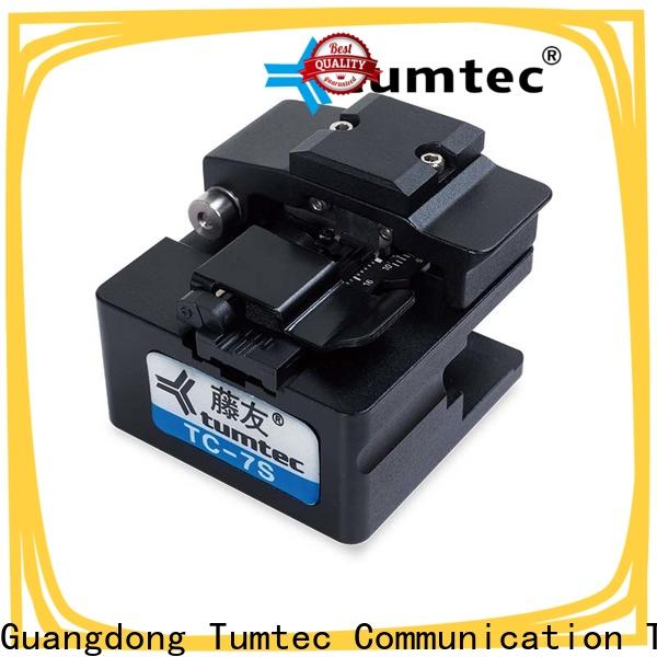 Tumtec quality fiber optic splicing supply for fiber optic field