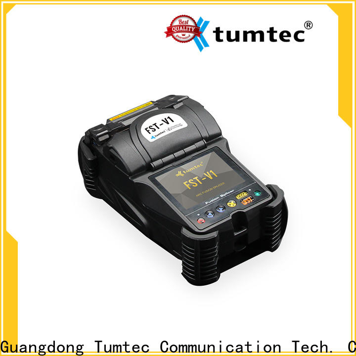 Tumtec cheap Fiber Fusion Machine wholesale for telecommunications
