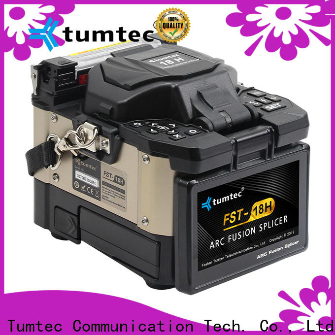 Tumtec cheap fiber optic fusion machine factory directly sale for outdoor environment
