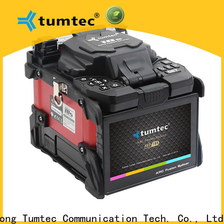 Tumtec optical fiber fiber optic splicing tools from China on sale