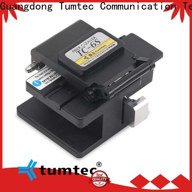 Tumtec t9 high precision cleaver company for fiber optic solution