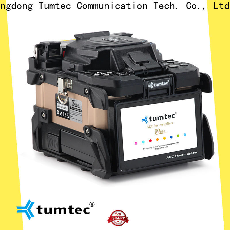 Tumtec high quality splicing machine price in kolkata for business for telecommunications