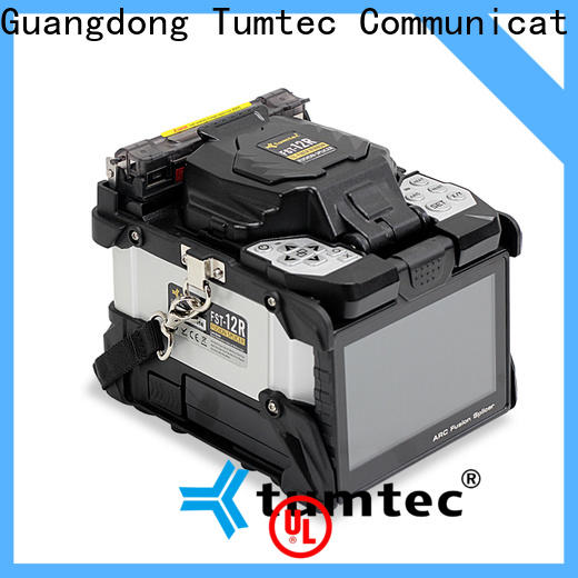 Tumtec six motor long-distance splicing machine suppliers for fiber optic solution bulk production