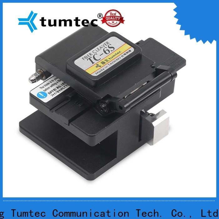 Tumtec elegant fiber optic splicing tool kit directly sale for fiber optic solution