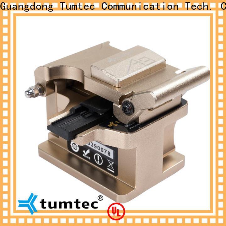 Tumtec durable optical fiber splicing kit design for telecommunications