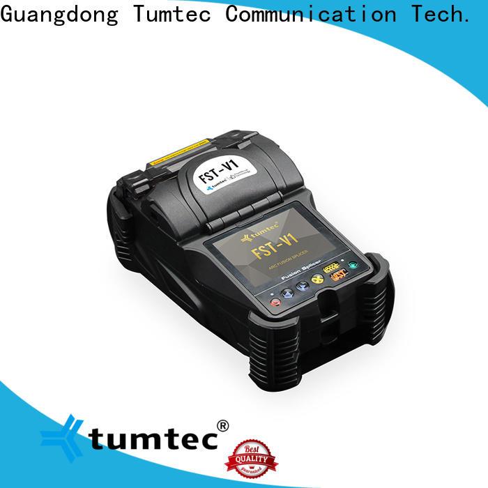Tumtec optical fiber long-distance splicing machine with good price for fiber optic solution bulk production