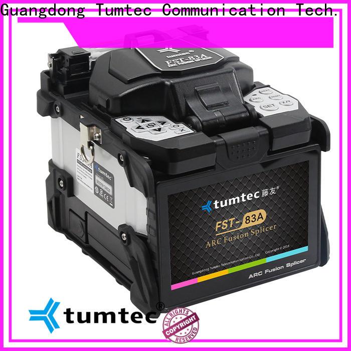 Tumtec hot-sale fiber optic splicing machine for sale factory directly sale bulk buy