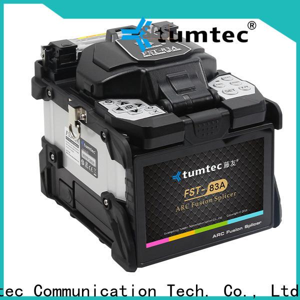 Tumtec Tumtec fiber optic cable splicing equipment suppliers for fiber optic solution bulk production