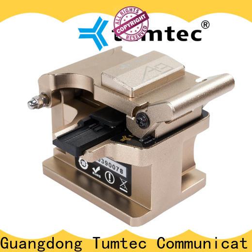 Tumtec professional fiber cleaver manual suppliers for fiber optic field