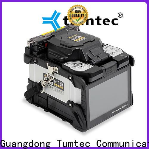 Tumtec professional fiber splicing machine company for fiber optic solution bulk production