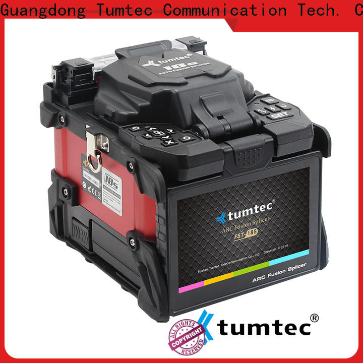Tumtec worldwide fusion splicing vs mechanical splicing factory direct supply for fiber optic solution bulk production