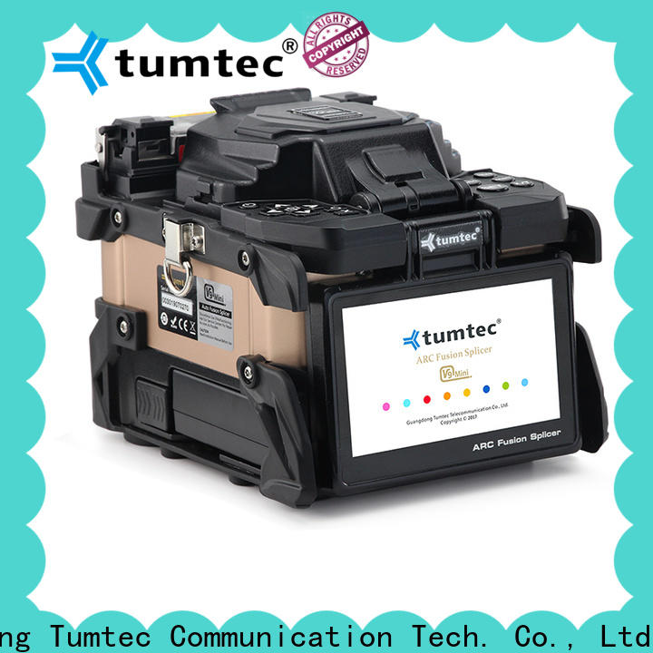 Tumtec stable fiber optic machine price best manufacturer for telecommunications