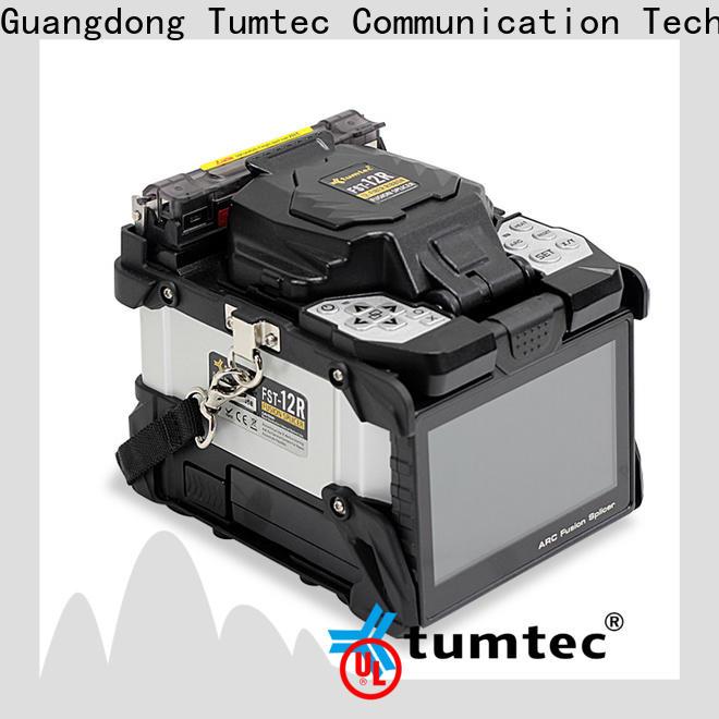 Tumtec six motor fiber optic splicing tool kit price reputable manufacturer directly sale for telecommunications