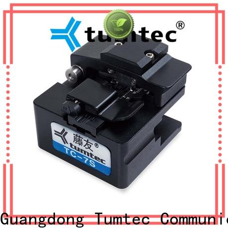 high efficiency fiber cleaver manual tcf8 supplier for fiber optic solution