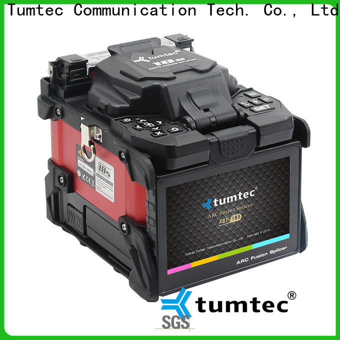 Tumtec tumtec splicing machine price in mumbai for business for fiber optic solution bulk production
