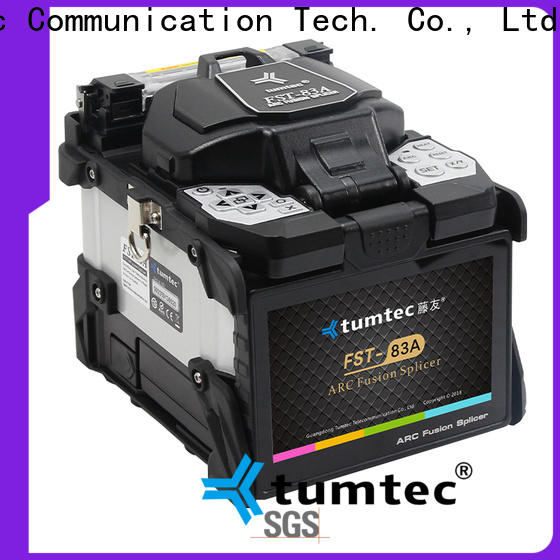 Tumtec stable fiber optic machine price supplier for telecommunications