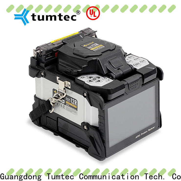 Tumtec long distance fiber joint machine for business for telecommunications