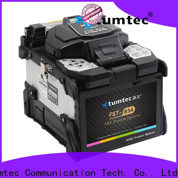 Tumtec optical fiber fiber optic splicing machine from China for telecommunications