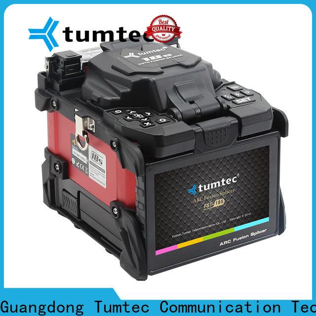 Tumtec effective fiber optic fusion machine wholesale on sale