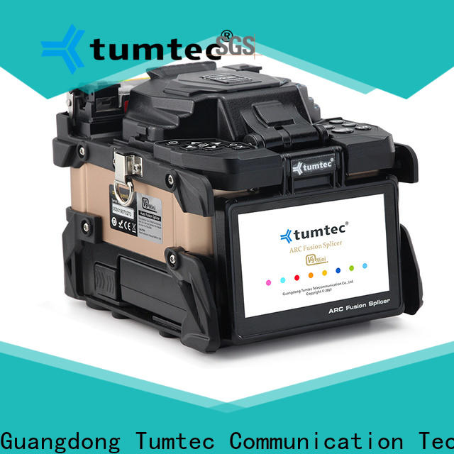 Tumtec v9 fibre optic splicing equipment south africa suppliers for outdoor environment