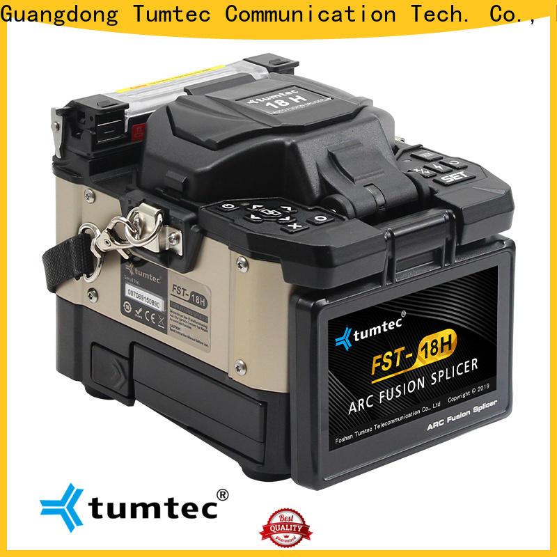 Tumtec best price optical fiber welding machine with good price for sale