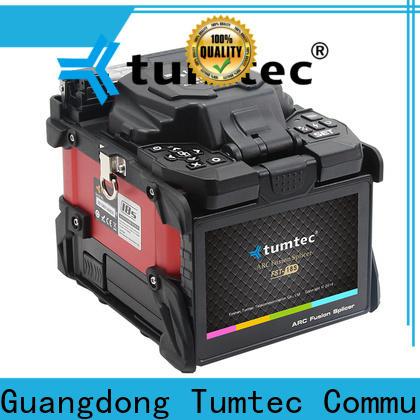 Tumtec v9 FTTH splicing machine design for telecommunications