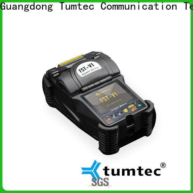 Tumtec six motor fiber optic splicing machine best manufacturer for sale