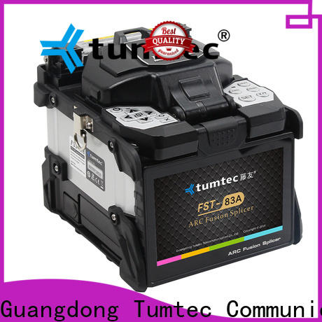 Tumtec four motors fiber optic cable jointer machine price supplier for fiber optic solution bulk production