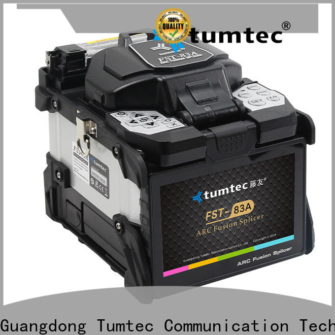 Tumtec v9 fiber splicing table from China on sale