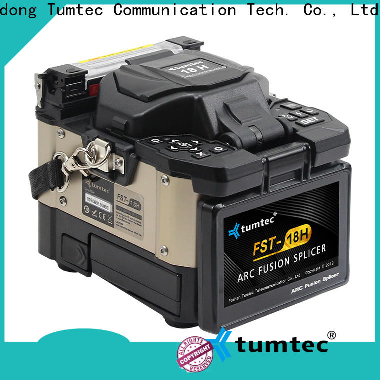 Tumtec best fiber splicing machine four motors from China for outdoor environment