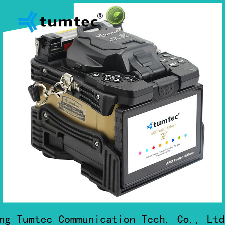 Tumtec stable splicing machine electrode personalized for fiber optic solution bulk production