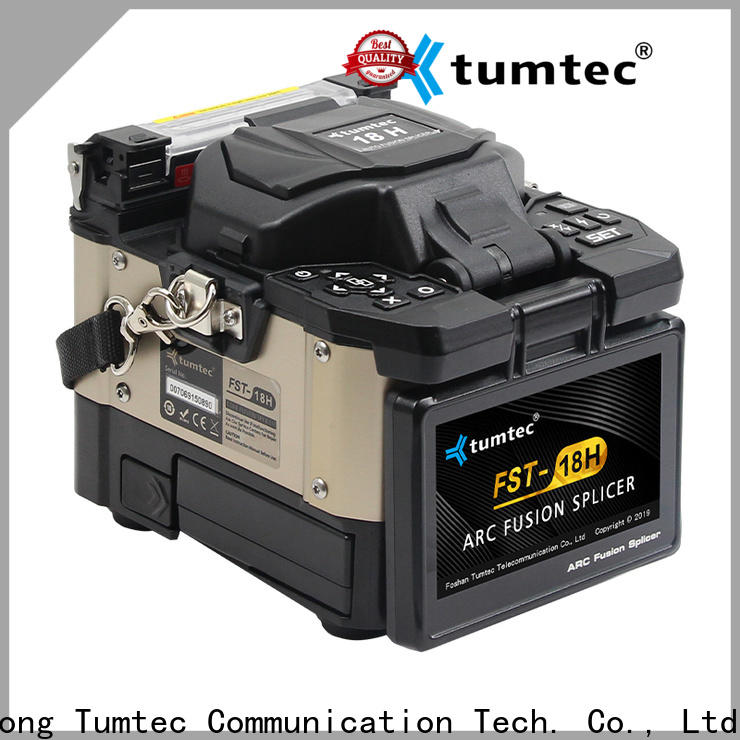 Tumtec stable Fiber Optic Fusion Machine reputable manufacturer directly sale for sale
